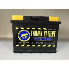 АКБ TYUMEN BATTERY 6CT-60 АП3 п.п. 520А