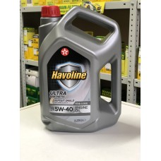 Texaco Havoline Ultra 5w40 4 литра